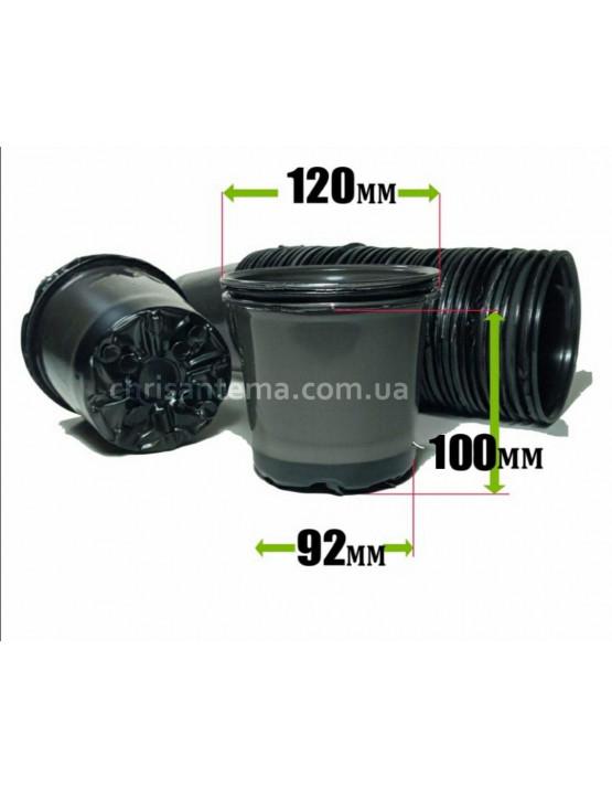 стакан для рассады 0,8 литра Украина с отверстиями