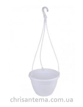 Кашпо 25 см подвесное  для цветов 5 литров Украина