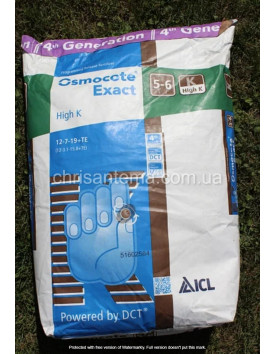 Удобрения Osmocote Exact High-K 5-6 м 12-7-19+TE 25 кг