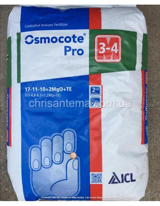 """Удобрения """"Osmocote PRO"""" стандарт мешок 25 кг 3-4 месяца"""